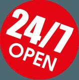 Happy Duck is 24/7 open!