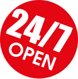Happy Duck is 24/7 open!